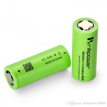 Brillipower 26650 5200mah 40A